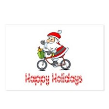 BikeChick Happy Holidays Postcards (Package of 8)