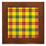 Tartan - Baxter Framed Tile