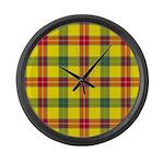Tartan - Baxter Large Wall Clock