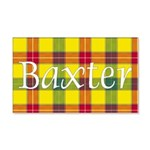 Tartan - Baxter 20x12 Wall Decal