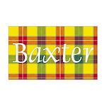 Tartan - Baxter 35x21 Wall Decal