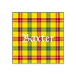 Tartan - Baxter Square Sticker 3
