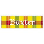 Tartan - Baxter Sticker (Bumper 10 pk)