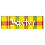 Tartan - Baxter Sticker (Bumper 50 pk)