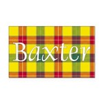 Tartan - Baxter Rectangle Car Magnet