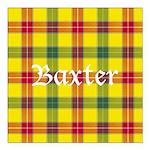 Tartan - Baxter Square Car Magnet 3