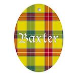 Tartan - Baxter Ornament (Oval)