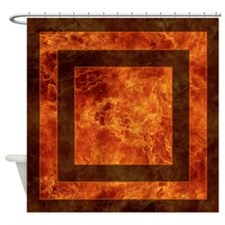 Firefighter Wife Shower Curtain