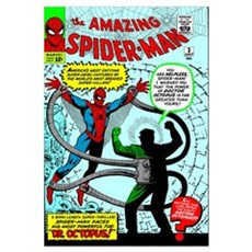The Amazing Spider-Man (Dr. Octopus!) Framed Print