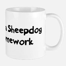 Maremma Sheepdog ate my homew Mug