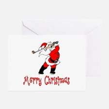 GolfChick Merry Christmas Greeting Cards (Package