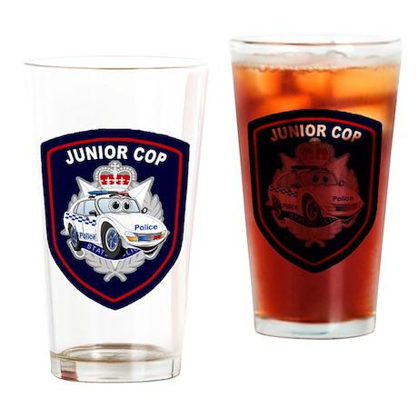 Junior Cop Drinking Glass