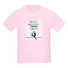 I am a girl.jpg T-Shirt