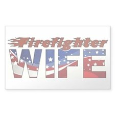 FIREFIGHTER WIFE Stickers