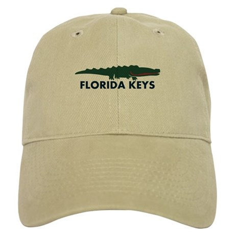 Florida Keys -Allligator Design. Cap