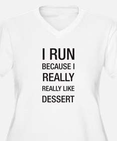 I run because I really really like dessert Plus Si