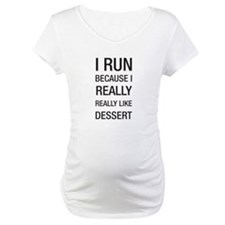 I run because I really really like dessert Materni