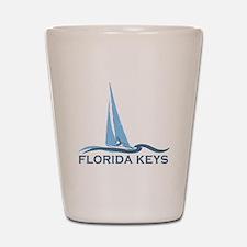 Florida Keys -Sailing Design. Shot Glass