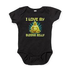 I Love My Buddha Belly Baby Bodysuit