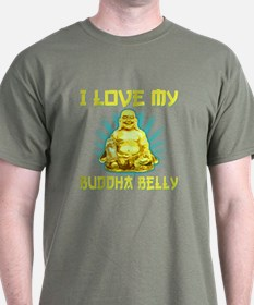 I Love My Buddha Belly T-Shirt
