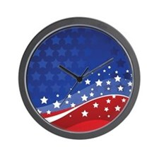 LONG MAY IT WAVE Wall Clock