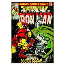 The Invincible Iron Man (Iron Man Battles Doctor D Poster