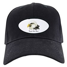 Tough Old Bird Quote with Bald Eagle Baseball Hat