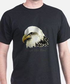 Tough Old Bird Quote with Bald Eagle T-Shirt