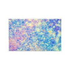 Watercolor Paisley 3'x5' Area Rug
