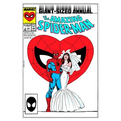 The Amazing Spider-Man (The Wedding Issue!) Poster