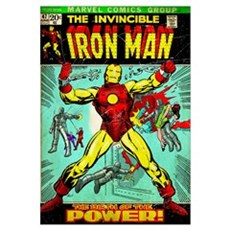 The Invincible Iron Man (The Birth Of The Power!) Poster
