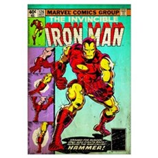The Invincible Iron Man (The Man Called Hammer!) Poster