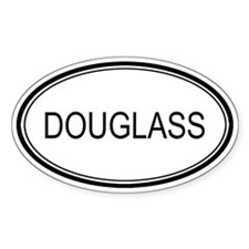 Douglass Oval Design Oval Decal