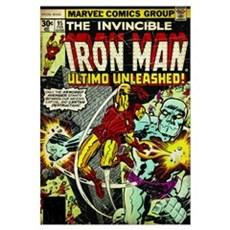 The Invincible Iron Man (Ultimo Unleashed!) Poster