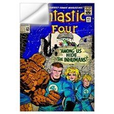 The Fantastic Four (Among Us Hide The Inhumans) Wall Decal