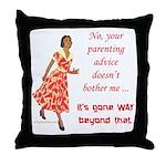 Way beyond that Throw Pillow