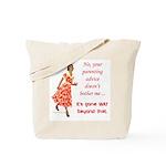 Way beyond that Tote Bag