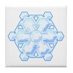 Flurry Snowflake VIII Tile Coaster