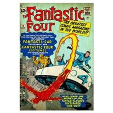 The Fantastic Four (The Greatest Comic Magazine In Canvas Art