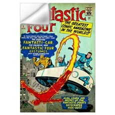 The Fantastic Four (The Greatest Comic Magazine In Wall Decal