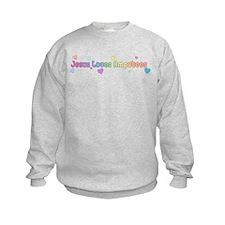 Jesus Loves Amputees Sweatshirt