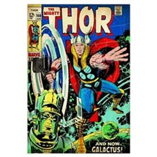 The Mighty Thor (And Now Galactus!) Poster