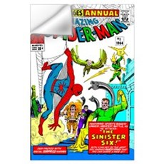 The Amazing Spider-Man (The Sinister Six!) Wall Decal
