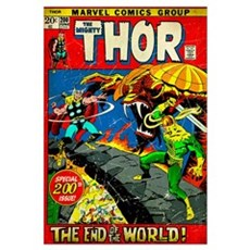 The Mighty Thor (The End Of The World!) Poster