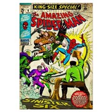 The Amazing Spider-Man (The Sinister Six) Canvas Art