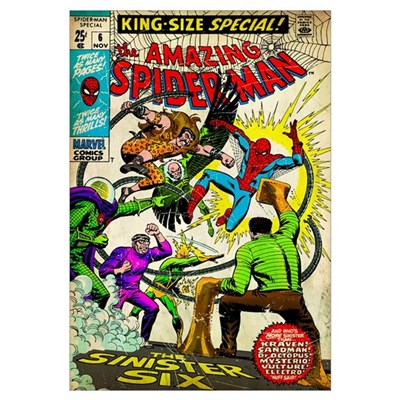 The Amazing Spider-Man (The Sinister Six) Poster
