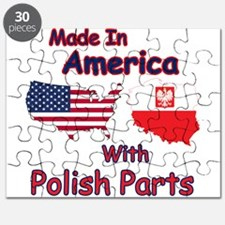 America With Polish Parts Puzzle