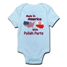 America With Polish Parts Body Suit