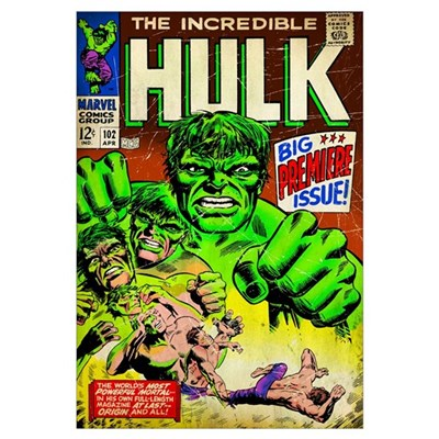 The Incredible Hulk (Big Premiere Issue) Framed Print