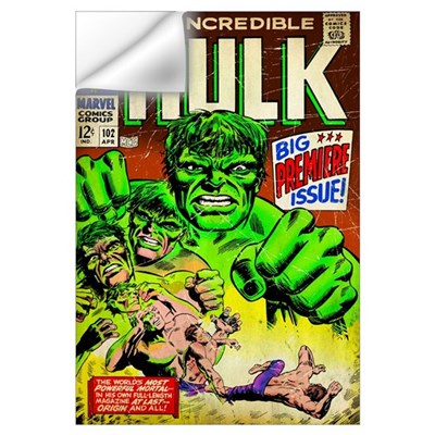 The Incredible Hulk (Big Premiere Issue) Wall Decal